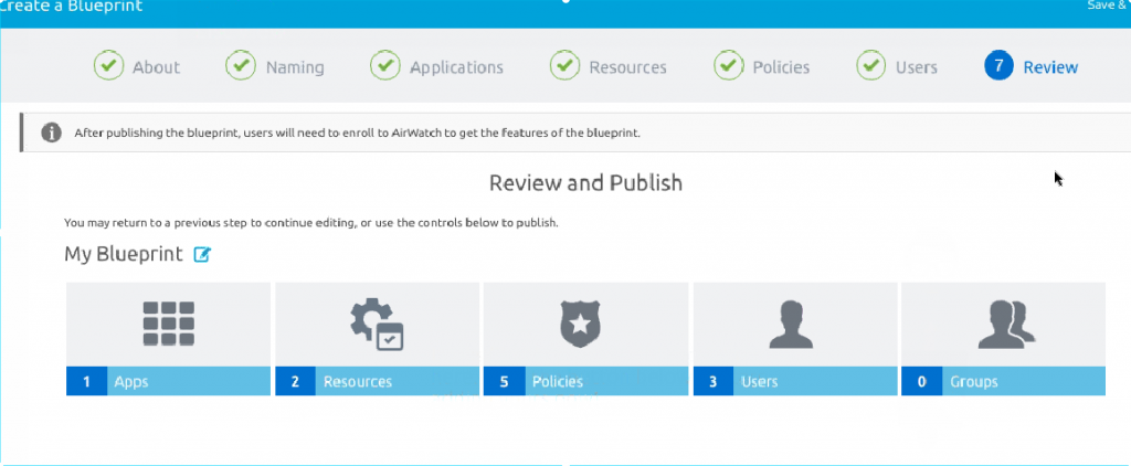 VMware AirWatch Express