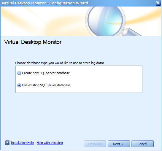 Virtual Desktop Monitoring
