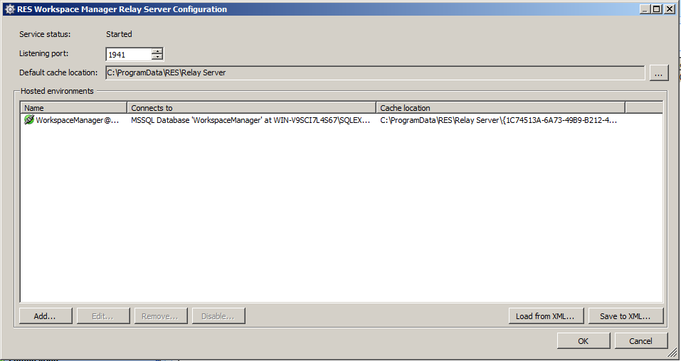 RES Workspace Manager 2012 – New functionality; Relay servers