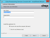Citrix Avalon Excalibur, part II: Citrix Provisioning server