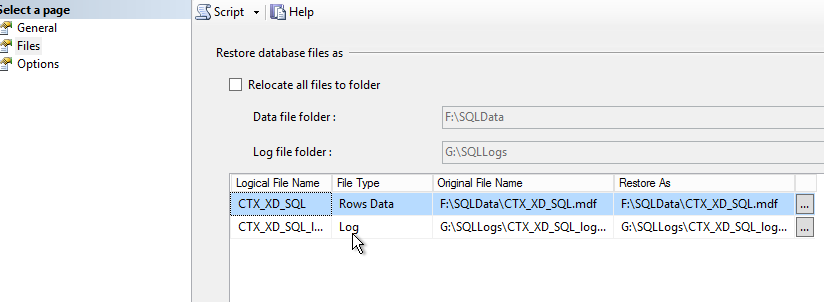 Feature request: Citrix Database configuration tool