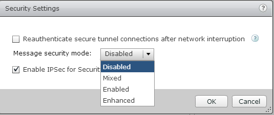VMware Horizon View 6.0x to 6.1 upgrade: Security server