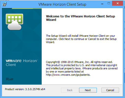 VMware Horizon View 6.0x to 6.1 upgrade: Client