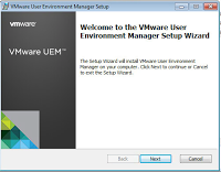 VMware UEM series, part 2: Group policy and agent