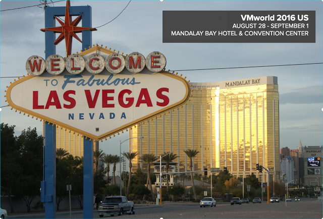 VMworld 2016 Las Vegas – 13 take aways