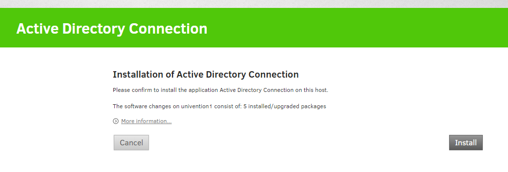 Univention as directory service source for VMware Horizon View