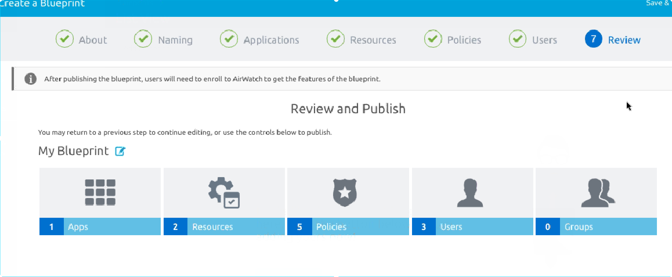 VMware AirWatch Express setup – a quick walkthrough the console