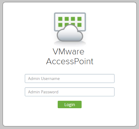 Deploy and configure VMware Access Point with the GUI