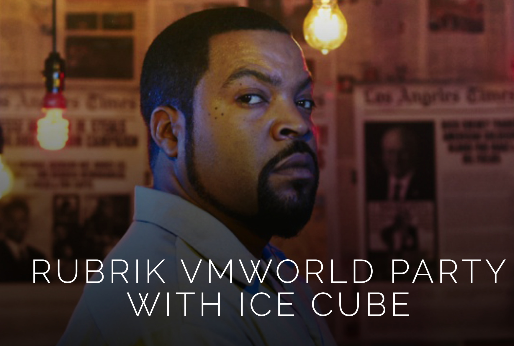 Rubrik party with Ice Cube