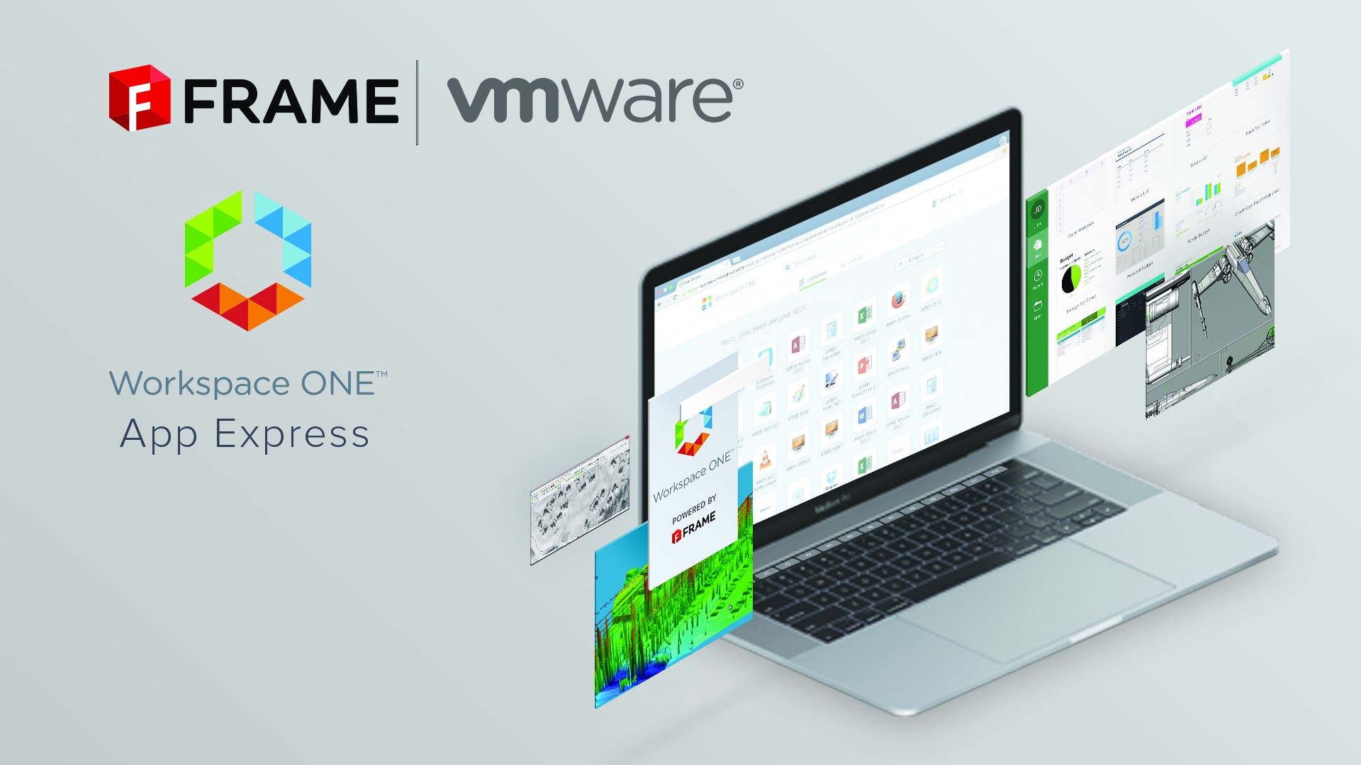 VMware partners with FRAME to deliver apps with Workspace ONE App Express