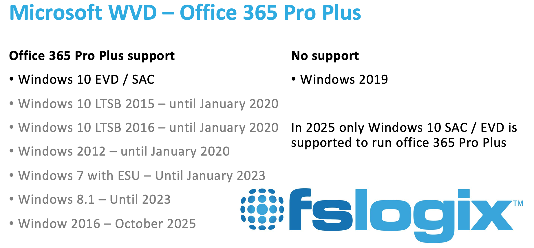 Microsoft acquires FSLogix to enhance Office365ProPlus